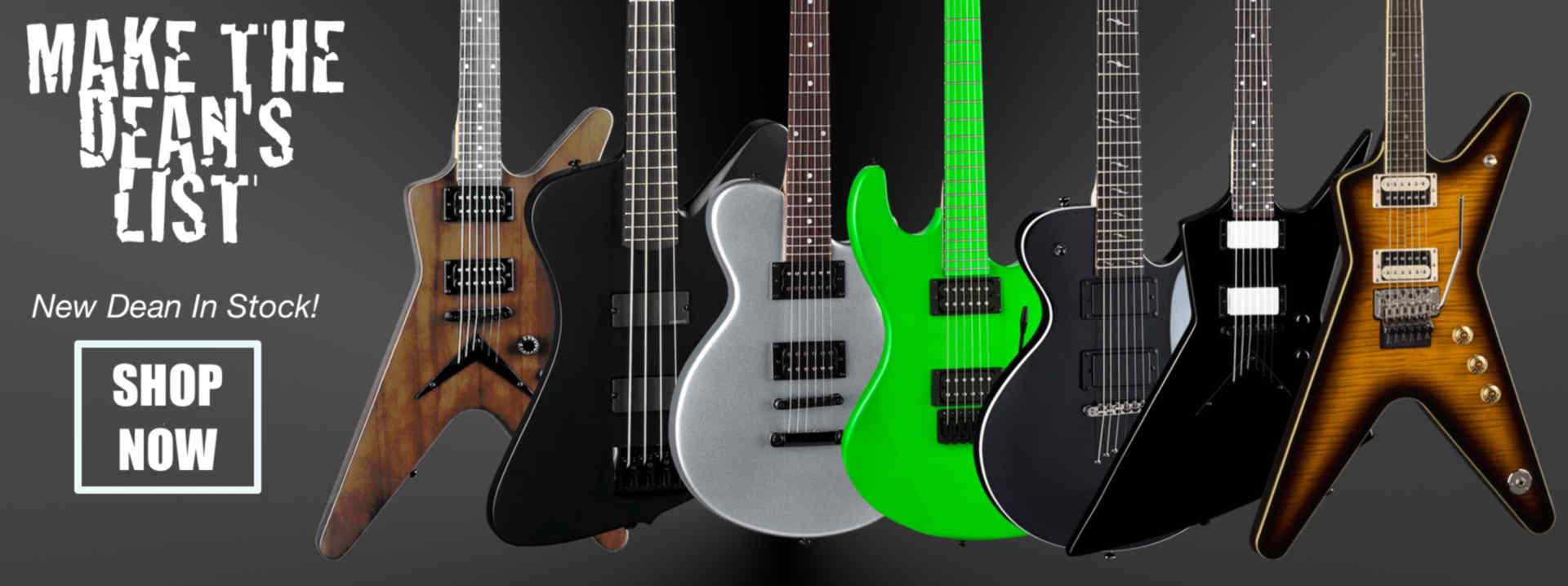 Dean Guitars at Hoover Music